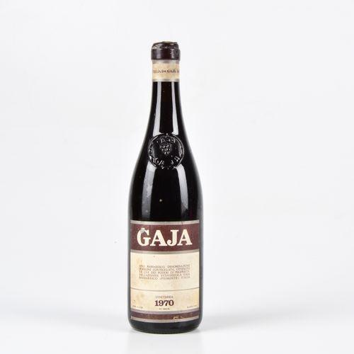 Gaja, Barbaresco, (1 Bt) 1970 1 Bt WN