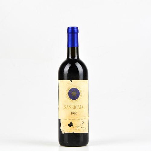 Tenuta San Guido, Sassicaia, (1 Bt) 1996年 1 Bt BN
