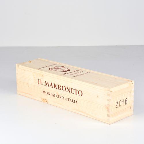 Il Marroneto, Brunello di Montalcino, (1 Mg) 2016年OWC密封