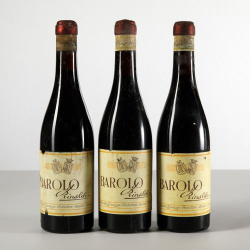 Giuseppe Rinaldi, Barolo, (3 Bts) millésime non visible 3 Bts BN