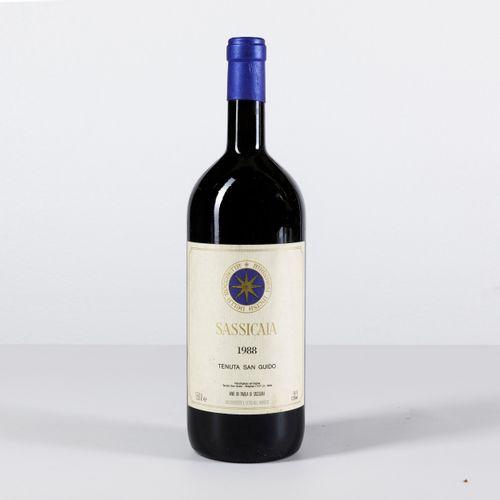 Tenuta San Guido, Sassicaia, (1 Mg) 1988 1 Mg WN OWC