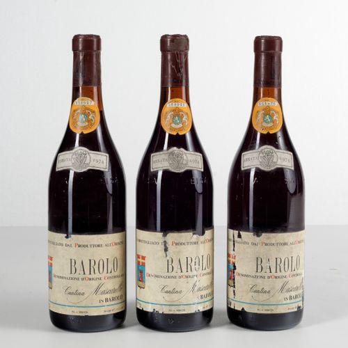 Bartolo Mascarello, Barolo, (3 Bts) 1974年 3 Bts TS