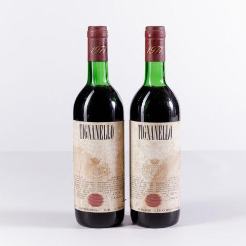 Antinori, Tignanello, (2 Bts) 1971 2 Bts TS