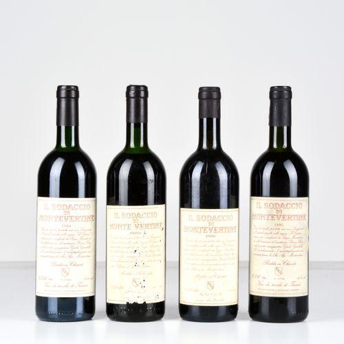 Montevertine, Il Sodaccio di Montevertine, (4 Bts) 1983年 1 Bt S 1986年 1 Bt TS 19…