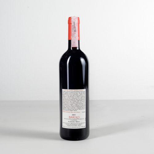 Cappellano, Barolo Pie Rupestris, (1 Bt) 2003 1 Bt BN