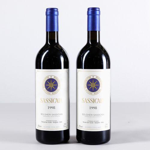 Tenuta San Guido, Sassicaia, (2 Bts) 1998 2 Bts WN