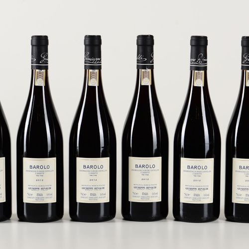 Giuseppe Rinaldi, Barolo Tre Tine, (6 Bts) 2012 4 Bts WN 2 Bts BN