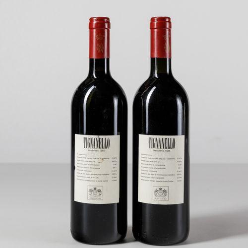 Antinori, Tignanello, (2 Bts) 1985 2 Bts WN