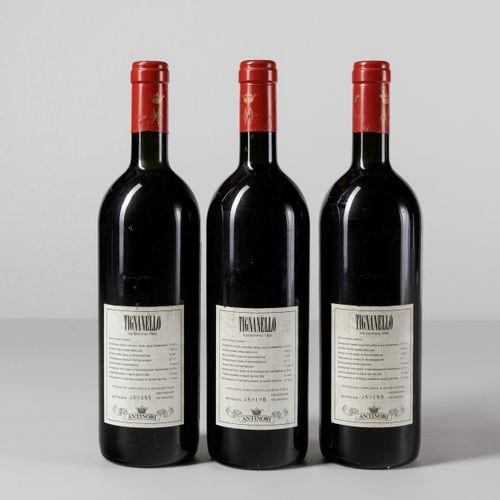 Antinori, Tignanello, (3 Bts) 1980 3 Bts BN