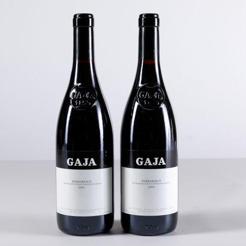 Gaja, Barbaresco, (2 Bts) 2005 2 Bts WN