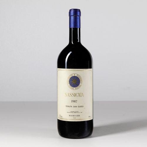 Tenuta San Guido, Sassicaia, (1 Mg) 1987 1 Mg BN OWC