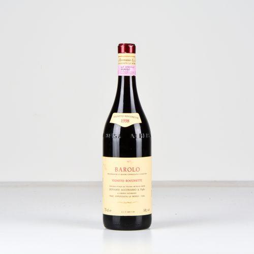 Cav. Lorenzo Accomasso, Barolo Vigneto Rocchette, (1 Bt) 1998年 1 Bt WN