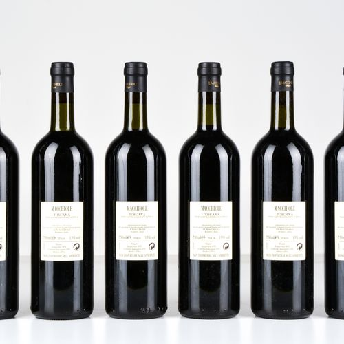 Le Macchiole, Macchiole, (8 Bts) 1999 1 Bt TS 2000 6 Bts TS 2001 1 Bt TS