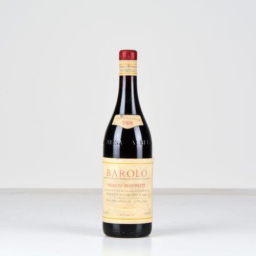 Cav. Lorenzo Accomasso, Barolo Vigneto Rocchette, (1 Bt) 1988 1 Bt WN