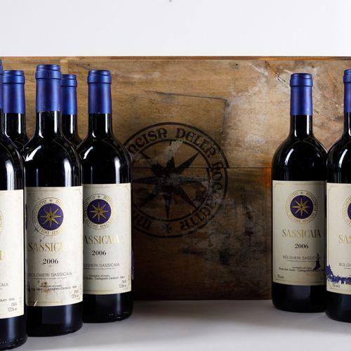 Tenuta San Guido, Sassicaia, (11 Bts) 2006 9 Bts WN 1 Bt BN 1 Bt TS OWC