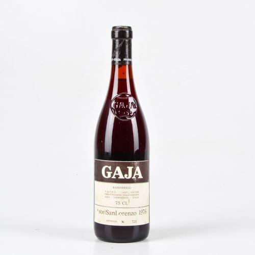 Gaja, Barbaresco Sorì San Lorenzo, (1 Bt) 1976 1 Bt BN