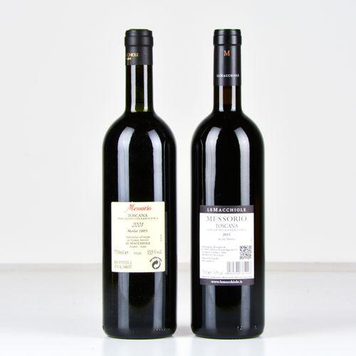 Le Macchiole, Messorio, (2 Bts) 2001 1 Bt TS OWC 2015 1 Bt WN