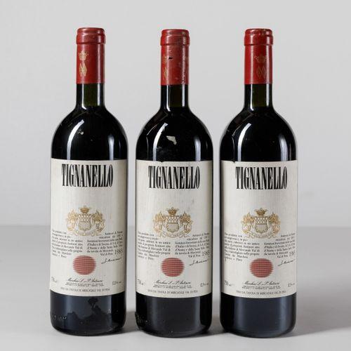 Antinori, Tignanello, (3 Bts) 1983 3 Bts BN