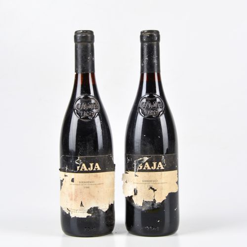 Gaja, Barbaresco, (2 Bts) 1988年 2 Bts WN