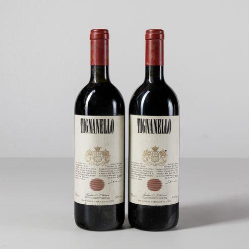Antinori, Tignanello, (2 Bts) 1985 2 Bts BN