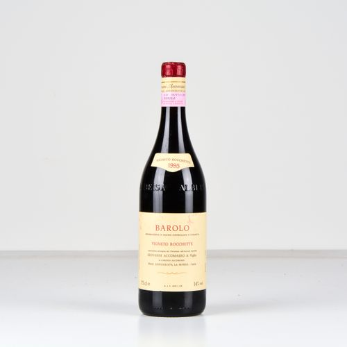Cav. Lorenzo Accomasso, Barolo Vigneto Rocchette, (1 Bt) 1995 1 Bt WN
