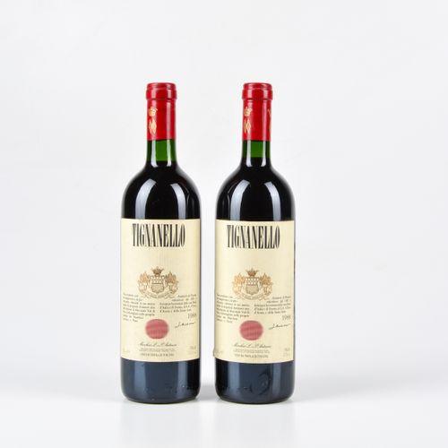 Antinori, Tignanello, (2 Bts) 1988 2 Bts WN