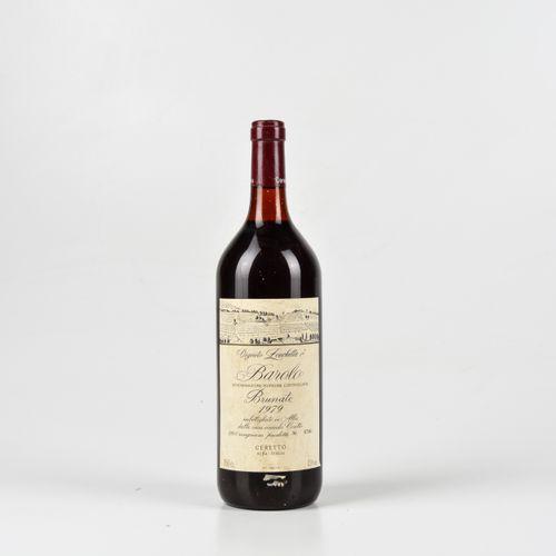 Ceretto, Barolo Brunate Vigneto Zonchetta, (1 Mg) 1979 1 Mg TS