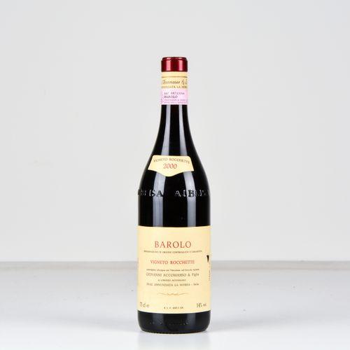 Cav. Lorenzo Accomasso, Barolo Vigneto Rocchette, (1 Bt) 2000 1 Bt WN