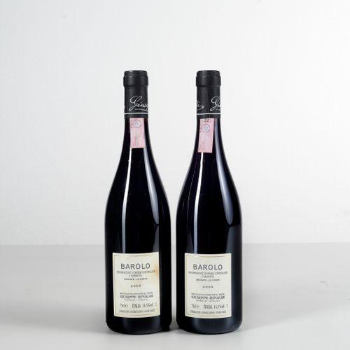 Giuseppe Rinaldi, Barolo Brunate Le Coste, (2 Bts) 2003 2 Bts WN