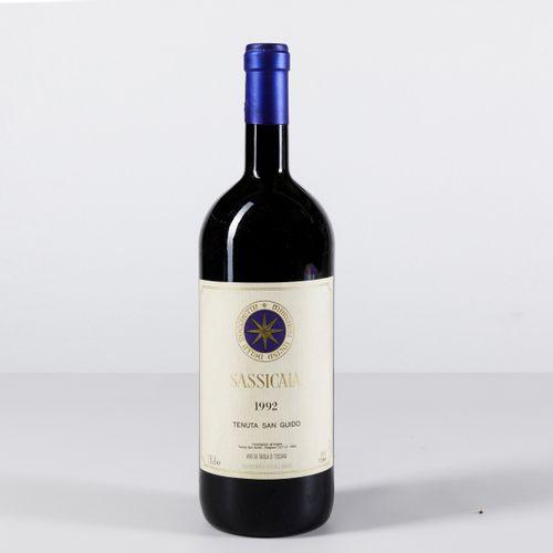 Tenuta San Guido, Sassicaia, (1 Mg) 1992 1 Mg BN OWC