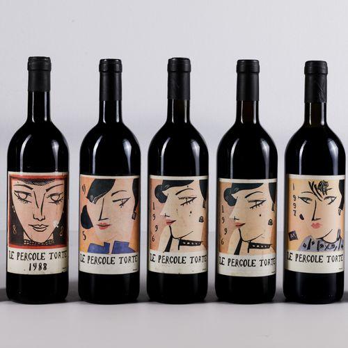 Montevertine, Le Pergole Torte, (20 Bts and 3 Mgs) 1988年 2 Bts TS 1995年 1 Bt WN …