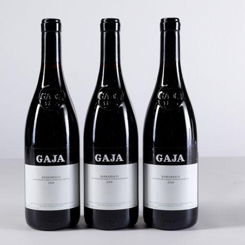 Gaja, Barbaresco, (3 Bts) 2008年3 Bts WN