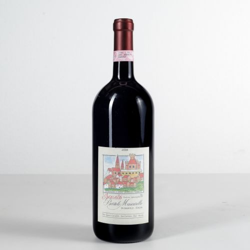 Bartolo Mascarello, Barolo Artist Label, (1 Mg) 2008 1 Mg WN