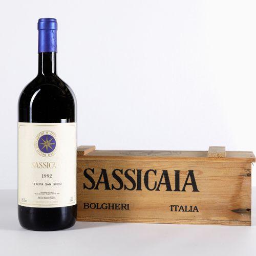 Tenuta San Guido, Sassicaia, (1 Mg) 1992 1 Mg WN OWC