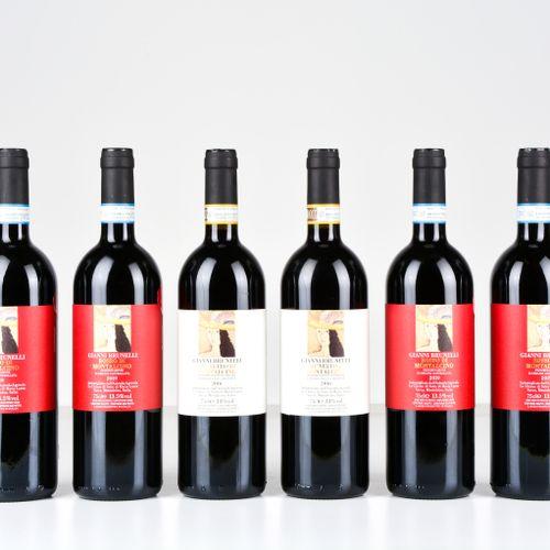 Gianni Brunelli, Rosso di Montalcino Gianni Brunelli, Brunello di Montalcino, (6…