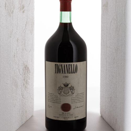 Antinori, Tignanello, (1 Bt 5L) 1980 1 Bt WN