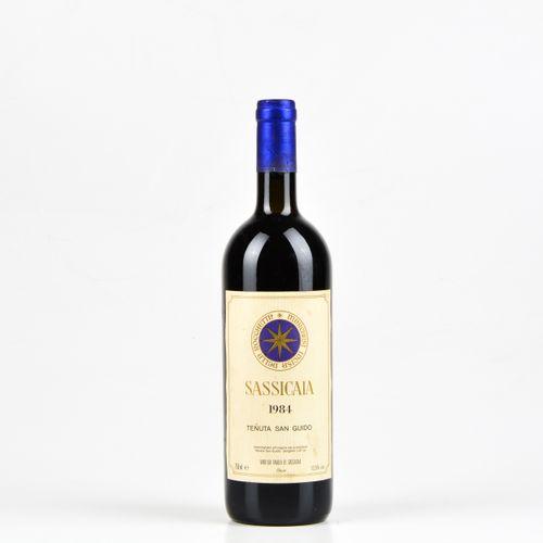 Tenuta San Guido, Sassicaia, (1 Bt) 1984 1 Bt TS