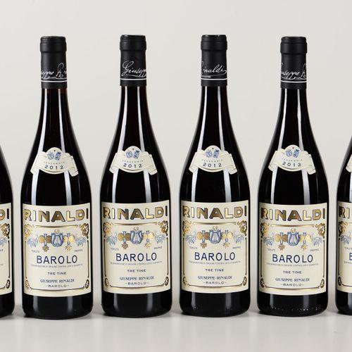 Giuseppe Rinaldi, Barolo Tre Tine, (6 Bts) 2012 6 Bts WN