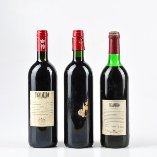 Antinori, Tignanello, (3 Bts) 1995 1 Bt BN 1985 1 Bt WN 1977 1 Bt TS