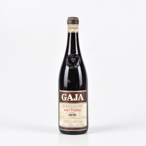 Gaja, Barbaresco Sorì Tildin, (1 Bt) 1970 1 Bt TS