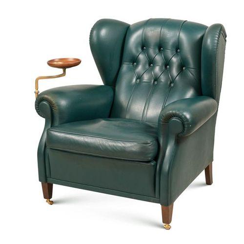 Frau armchair, designer Renzo Frau Italy, 20th century 93x95x95 cm. Fauteuil mod…