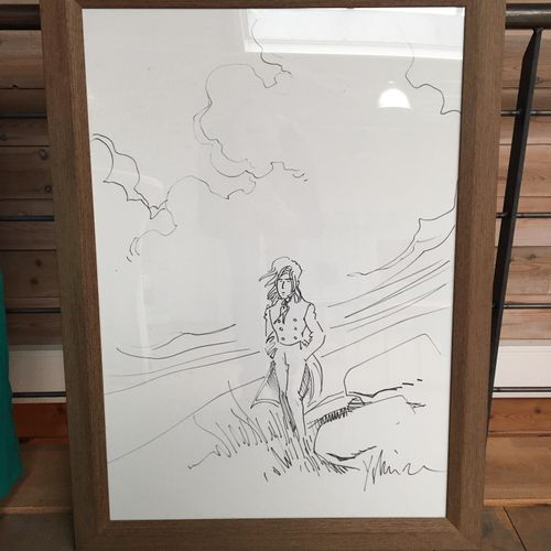 "NEUVIÈME ART YSLAIRE, HISLAIRE Bernard ""Sambre"", circa 2000, felt pen on paper, …"