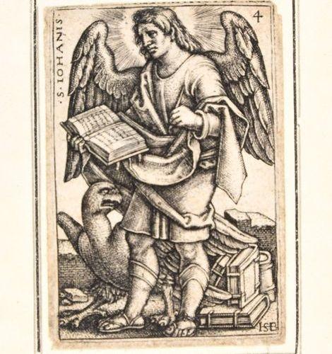BEHAM, Hans Sebald BEHAM, Hans Sebald Les quatre évangélistes. 1541 4 gravures, …