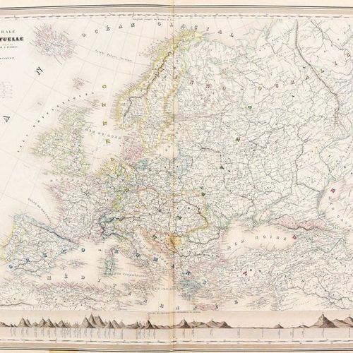 Dyonnet, Charles DUFOUR, Auguste Henri Atlas physique, historique et politique d…