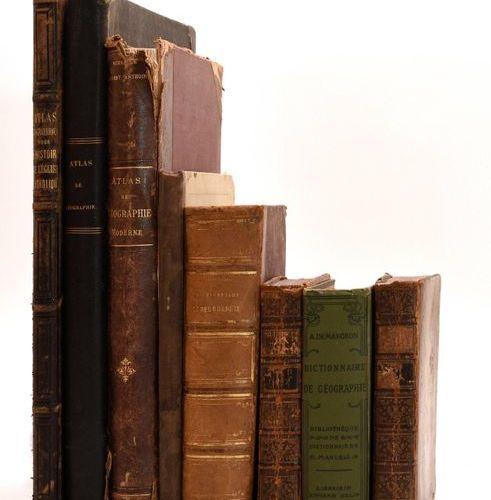 Tardieu atlas, 3 other atlases and 3 geographical dictionaries. 1. Tardieu, A. A…
