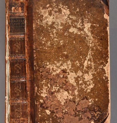 ELWE, Jan Barend; LANGEVELD, Dirk Meland Compleete zak atlas, van de zeventien N…