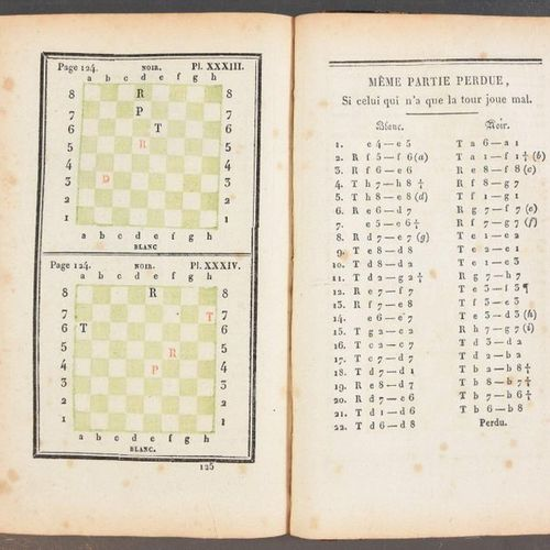 PHILIDOR, François André Analyse du jeu des échecs. With a new abbreviated notat…