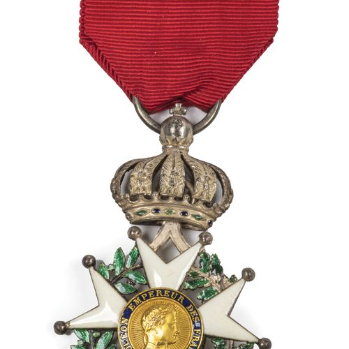 Second Empire. Order of the Legion of Honour. Knight's cross. T.B.E. With good r…