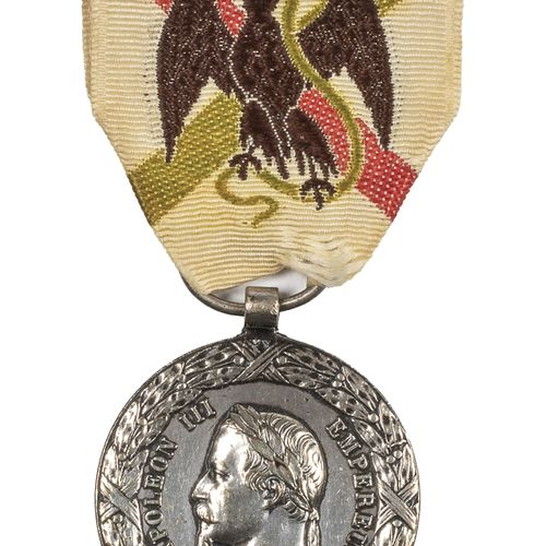 "Second Empire. Medal of the expedition to Mexico 1862 1863. Signed "" Barre "". T.…"