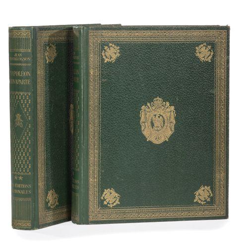Bourguignon (J.). Napoleon Bonaparte after Chateaubriand, Chuquet, Houssaye, Mad…